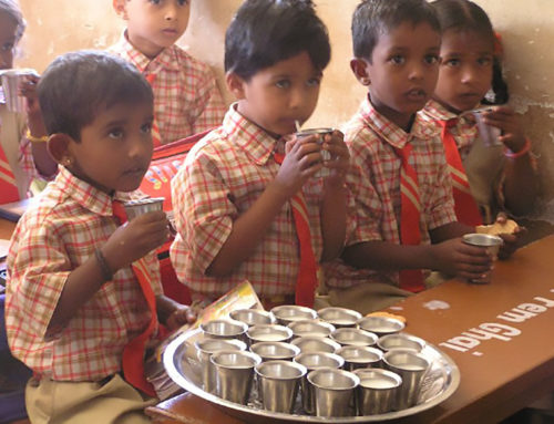 Schulmilch für Kinder
