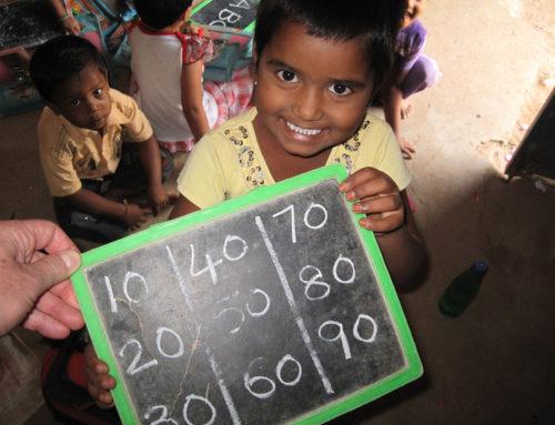 Unterricht in der Dorfschule