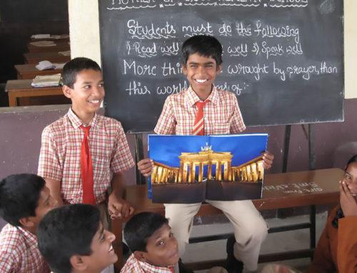 Schulplatz für Slumbewohner