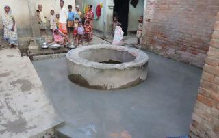 Brunnenbau für Arme in Indien