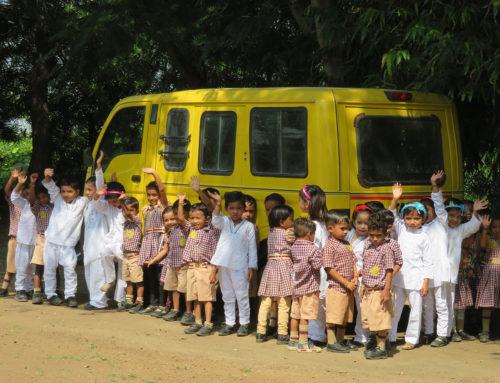 Hilfe für die Grundschüler von Bhagawanpura