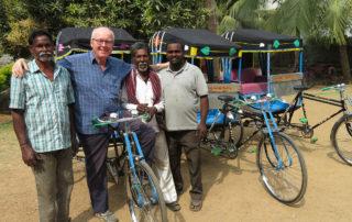 Rikshaws - Hilfe für Kastenlose in Indien