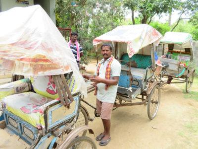 Rikschas - Hilfe für Kastenlose in Indien