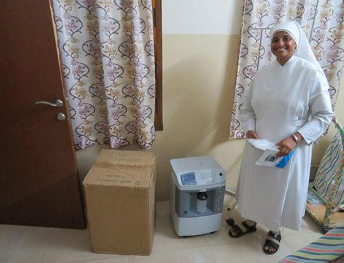 Sauerstoffgerät für Palliativversorgung