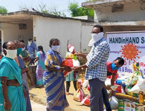 Corona Hilfe für Indien
