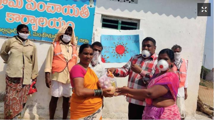 Mit 24 Euro vier Wochen leben – Spende für Menschen in Indien